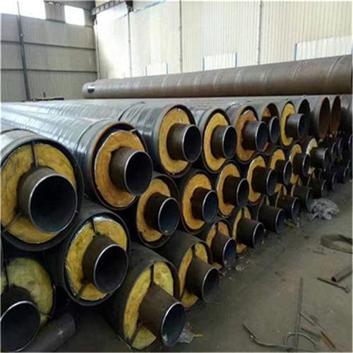 钢套钢蒸汽保温钢管